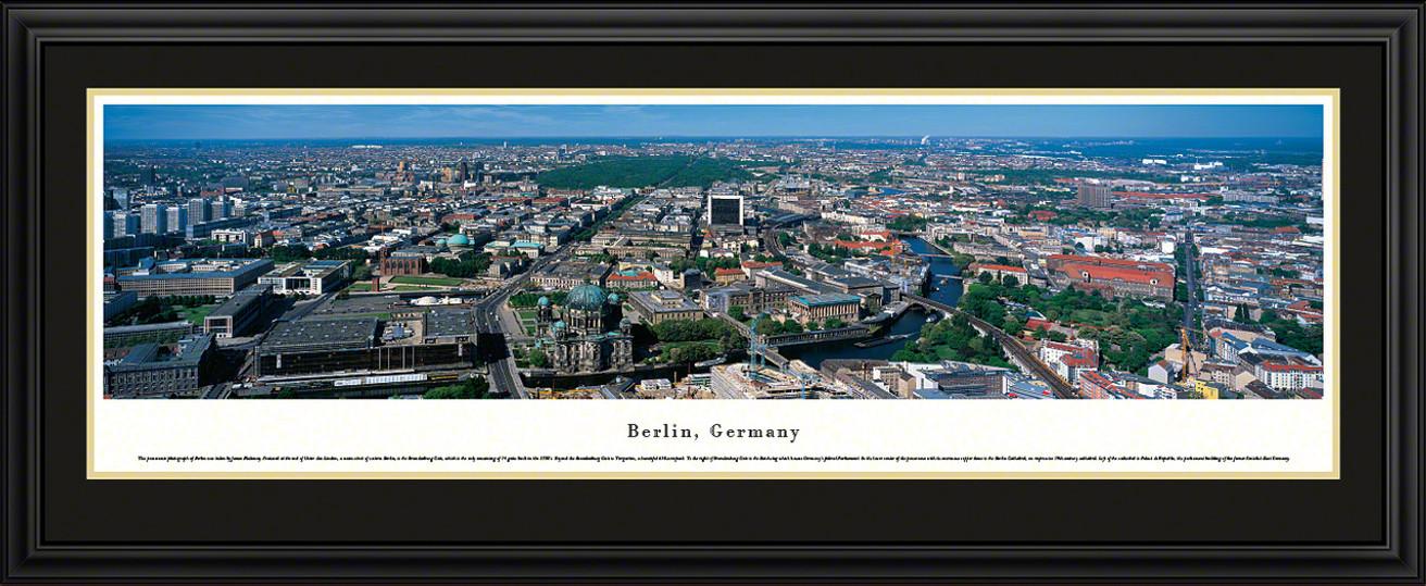 Berlin, Germany City Skyline Panorama