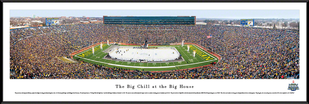 The Big Chill at the Big House Panorama - Michigan Wolverines vs. Michigan State Spartans