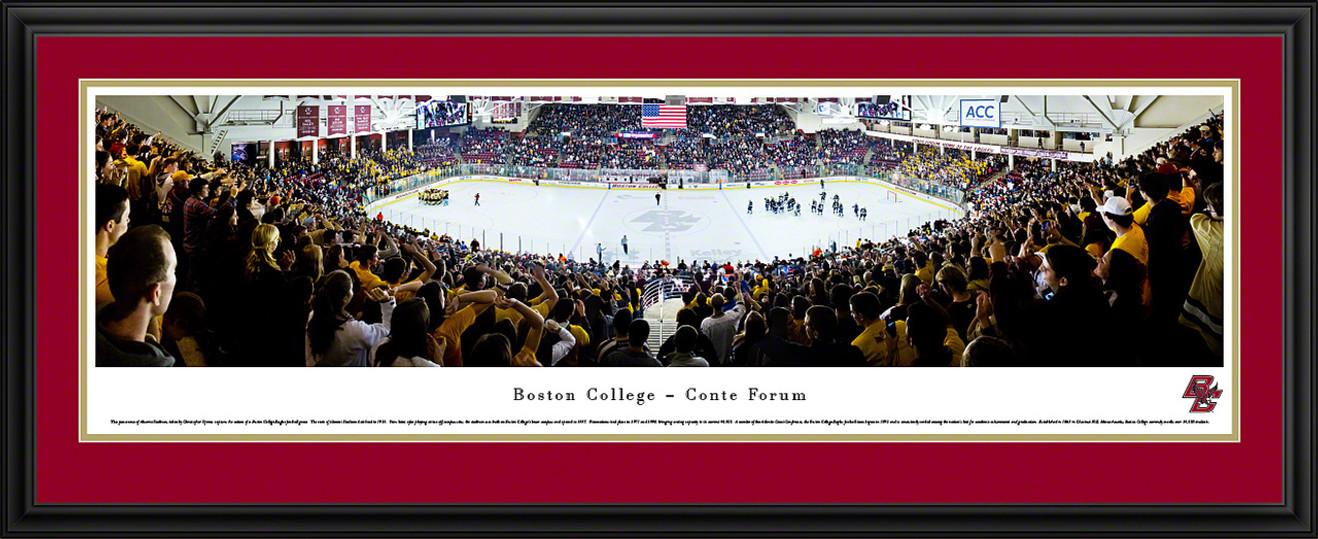 Boston College Eagles Panoramic - Conte Forum Picture - Hockey