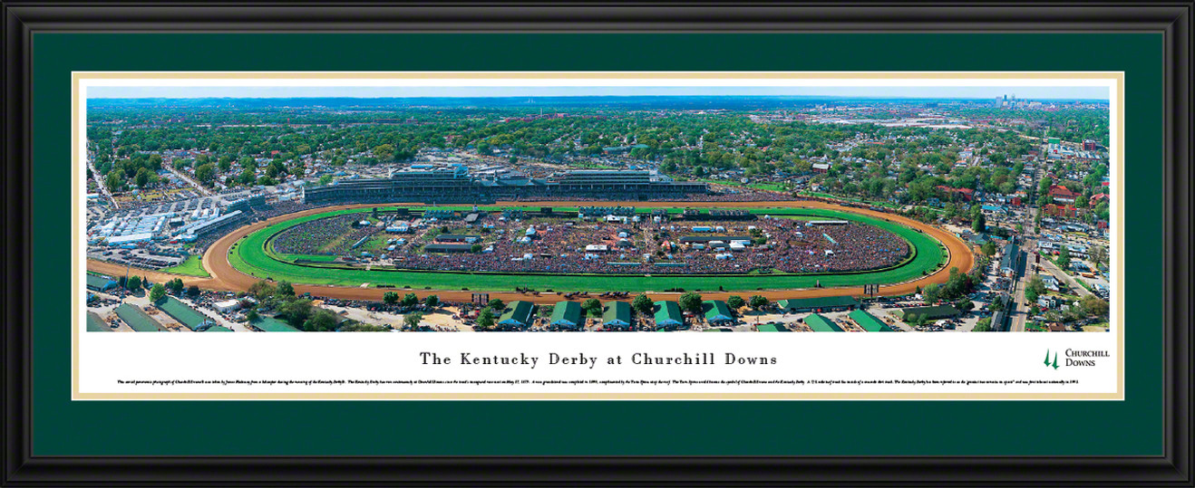 Kentucky Derby At Churchill Downs Panoramic Picture
