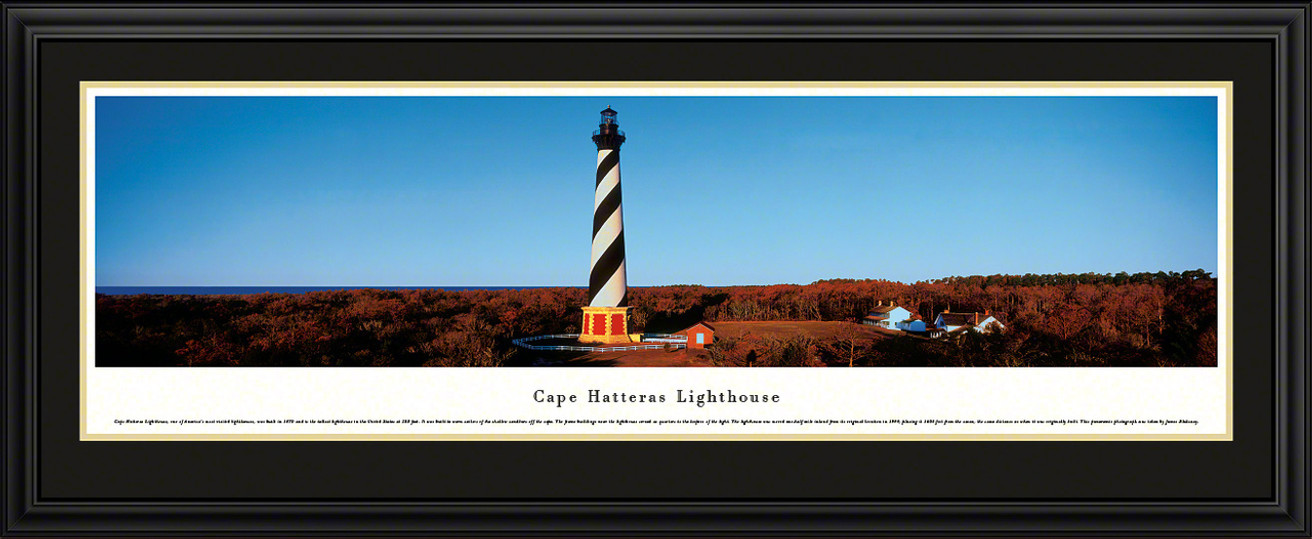 Cape Hatteras Lighthouse Panoramic Picture