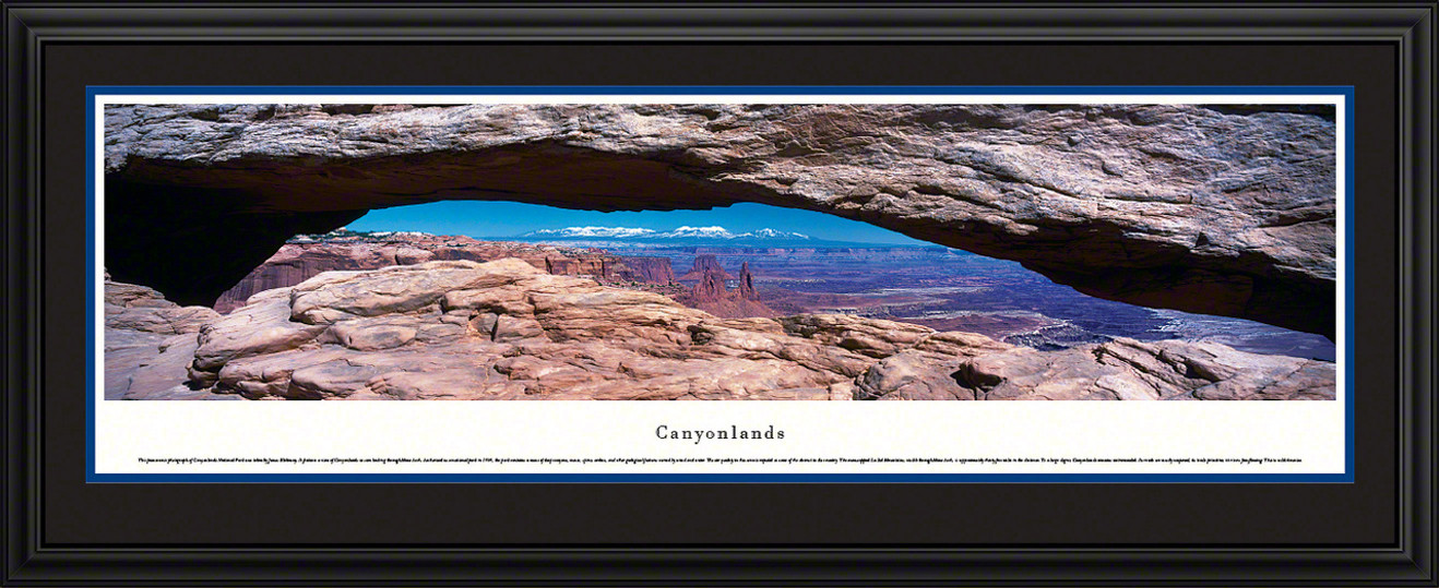 Canyonlands National Park Panoramic Picture