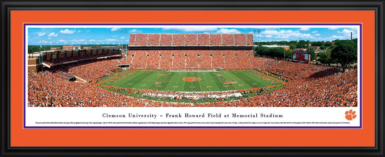 Clemson Tigers Panoramic - Memorial Stadium Picture