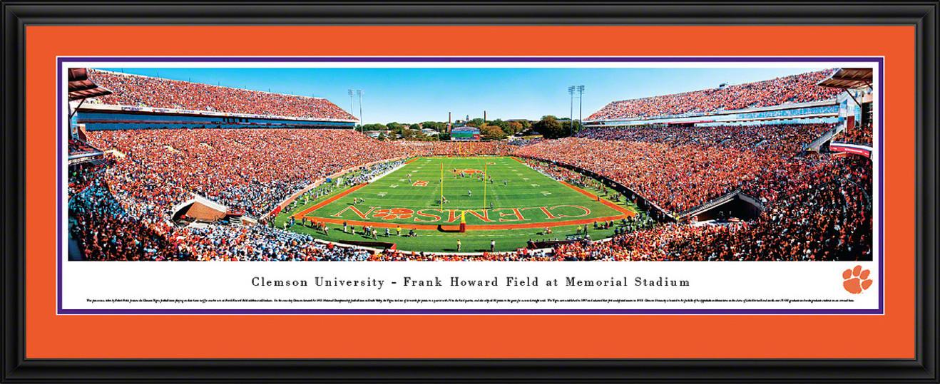Clemson Tigers Panorama - Memorial Stadium Picture
