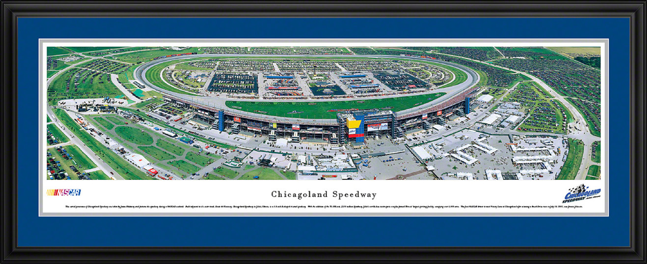 Chicagoland Speedway Panoramic Picture