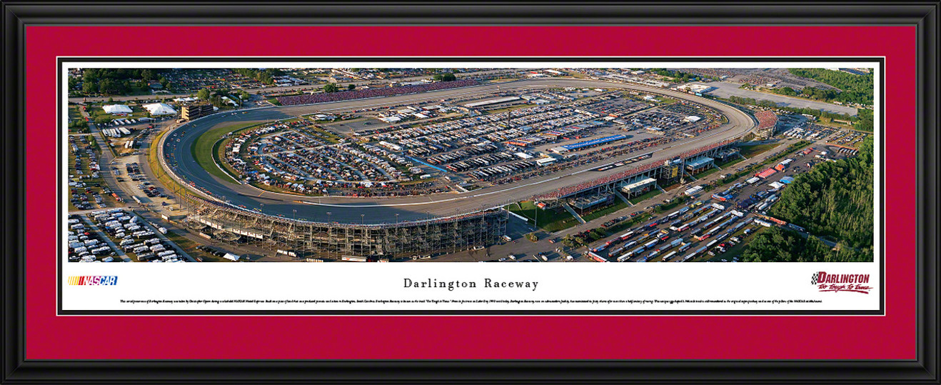Darlington Raceway Panoramic Picture