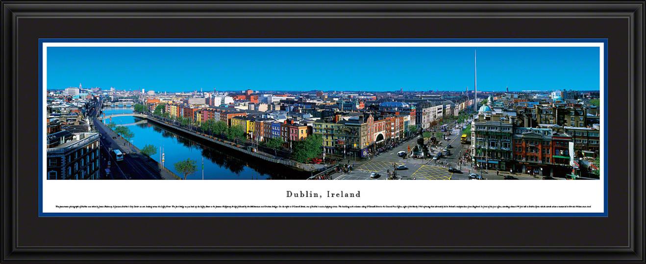 Dublin, Ireland Panoramic Skyline Picture