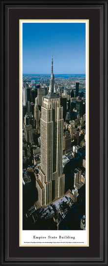 Empire State Building Panorama - Vertical Picture