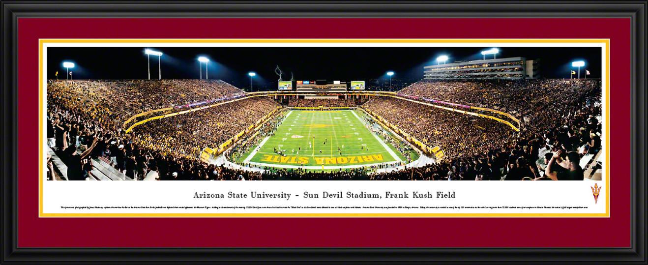Arizona State Sun Devils Panorama - Sun Devil Stadium Picture