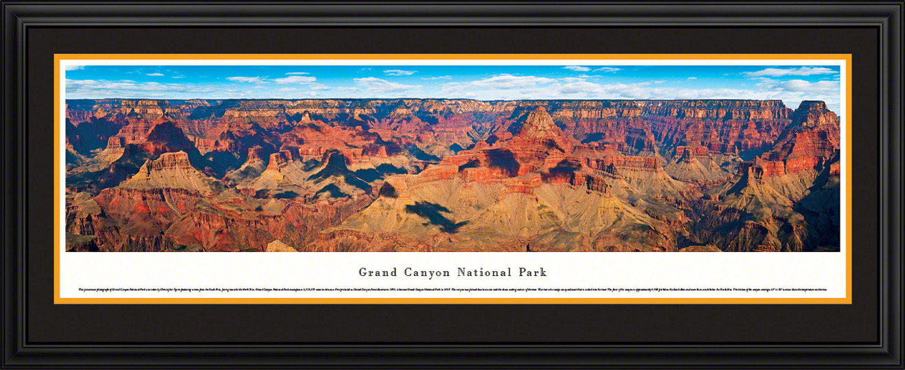 Grand Canyon National Park Panoramic Picture