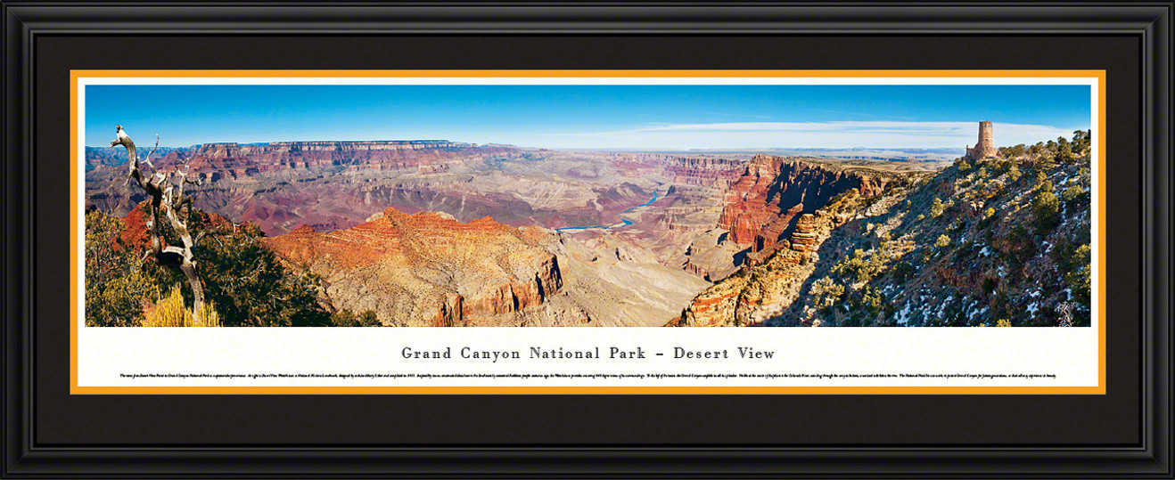 Grand Canyon National Park Panoramic Picture - Desert View