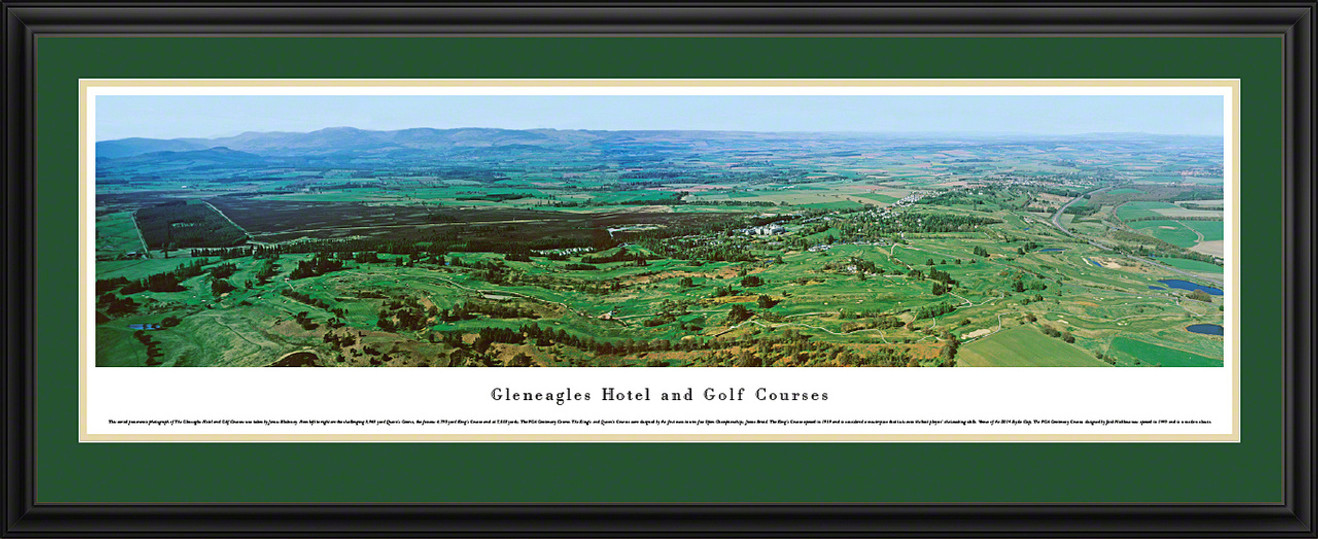Gleneagles Hotel and Golf Courses Panoramic Picture