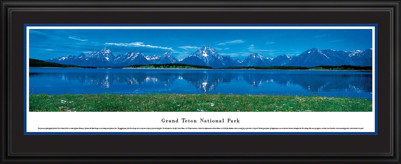 Grand Teton National Park Panoramic Picture