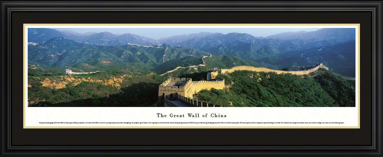 Great Wall Of China Panoramic Picture