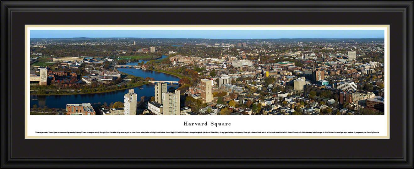 Harvard Square Skyline Panoramic Picture