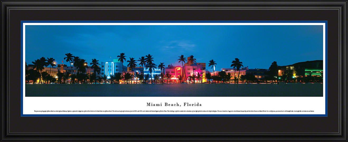 Miami Beach, Florida Panoramic Picture