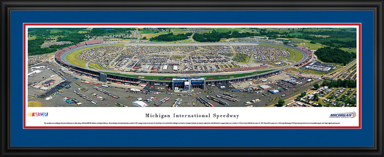 Michigan International Speedway Panoramic Picture