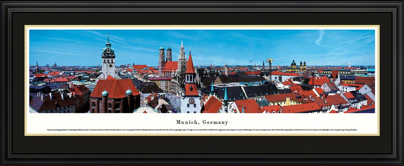 Munich, Germany City Skyline Panorama