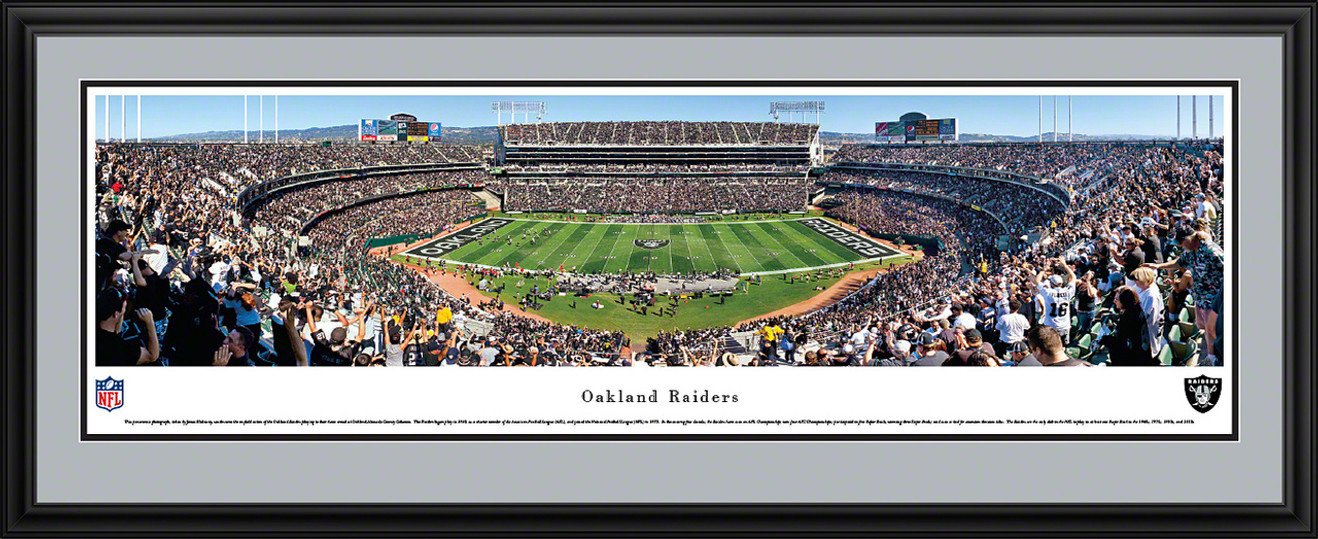 Oakland Raiders Panoramic - O.co Coliseum Picture