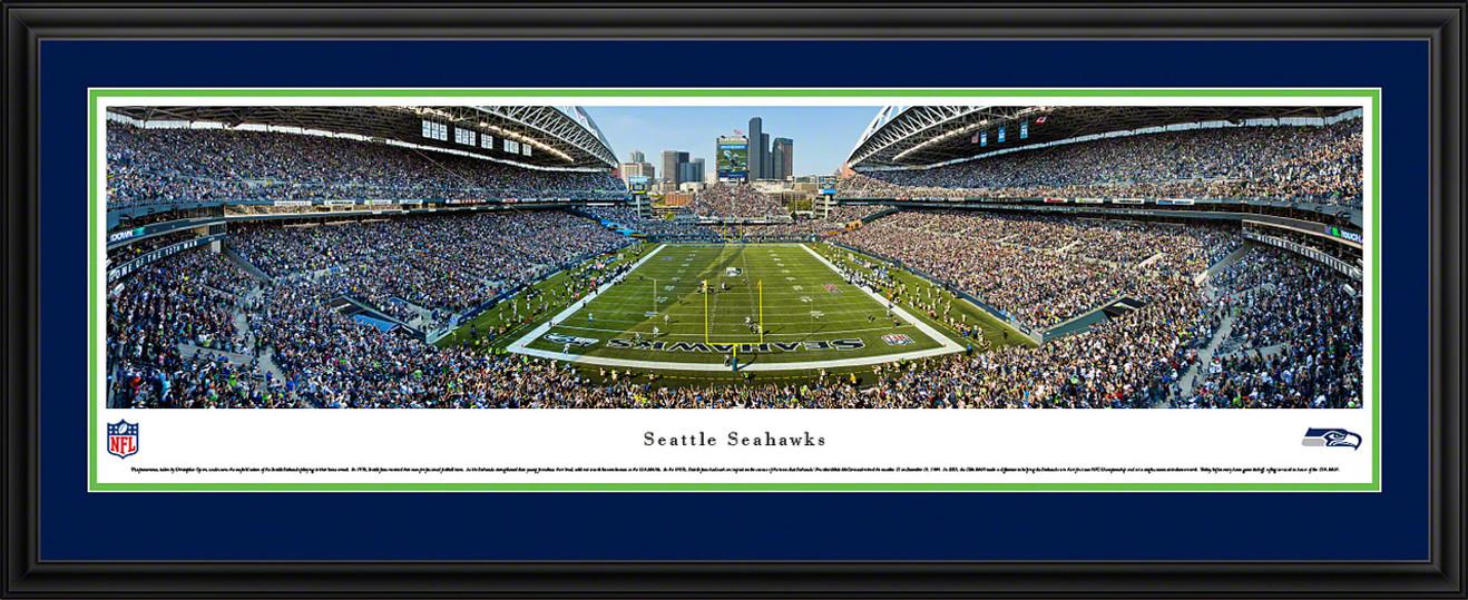 Seattle Seahawks Panoramic - CenturyLink Field Picture