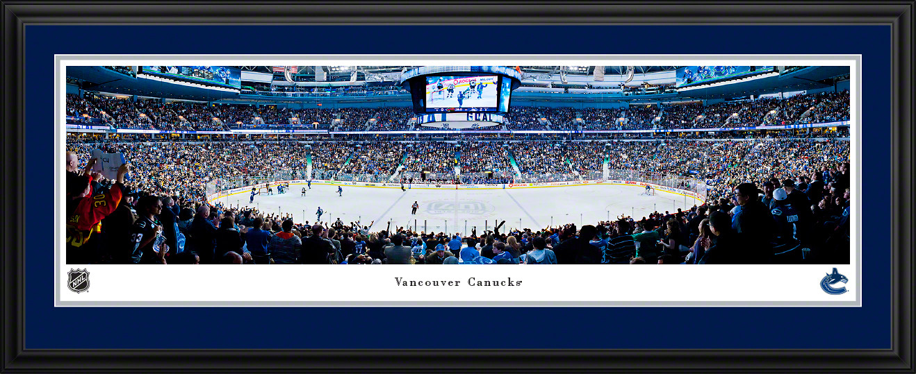 Vancouver Canucks Panoramic - Rogers Arena Picture