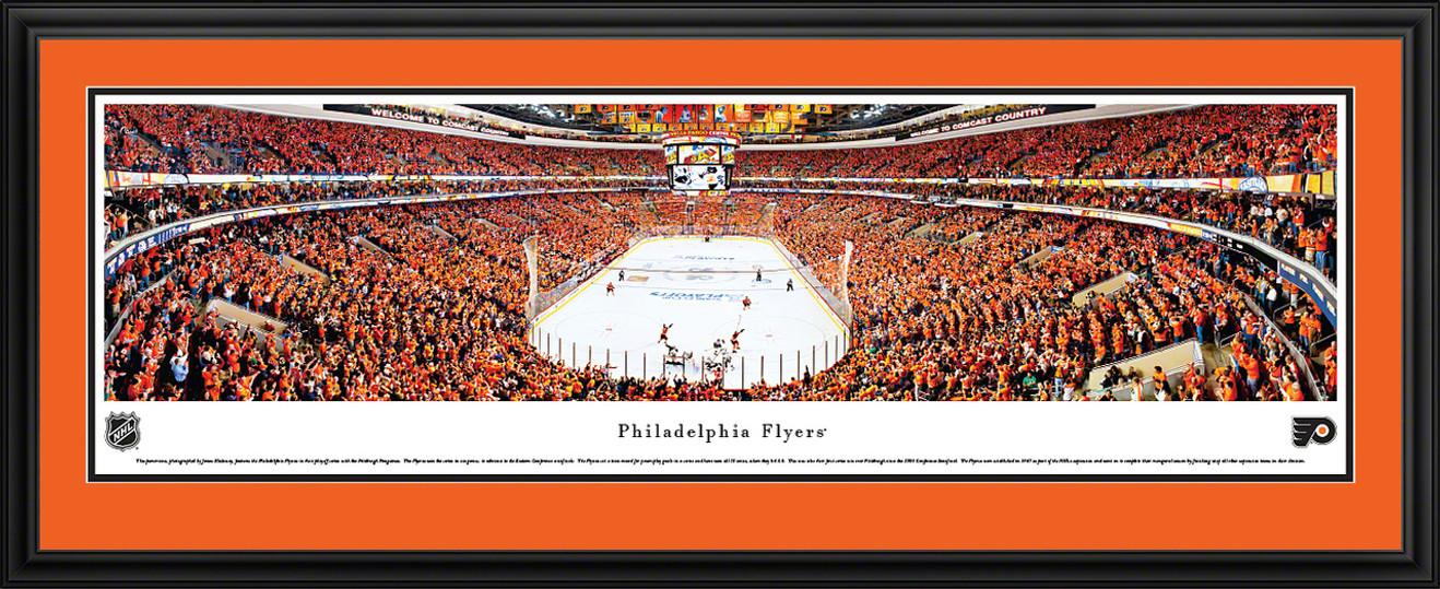 Philadelphia Flyers Panoramic - Wells Fargo Center Picture - Playoffs