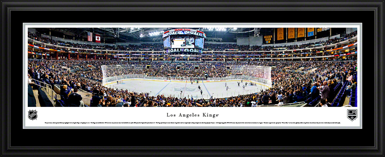 Los Angeles Kings Panoramic - Staples Center Picture