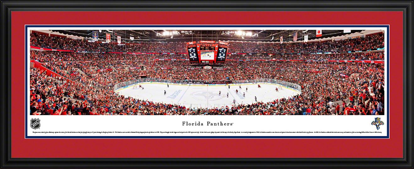 Florida Panthers Panoramic - Bank Atlantic Center Picture