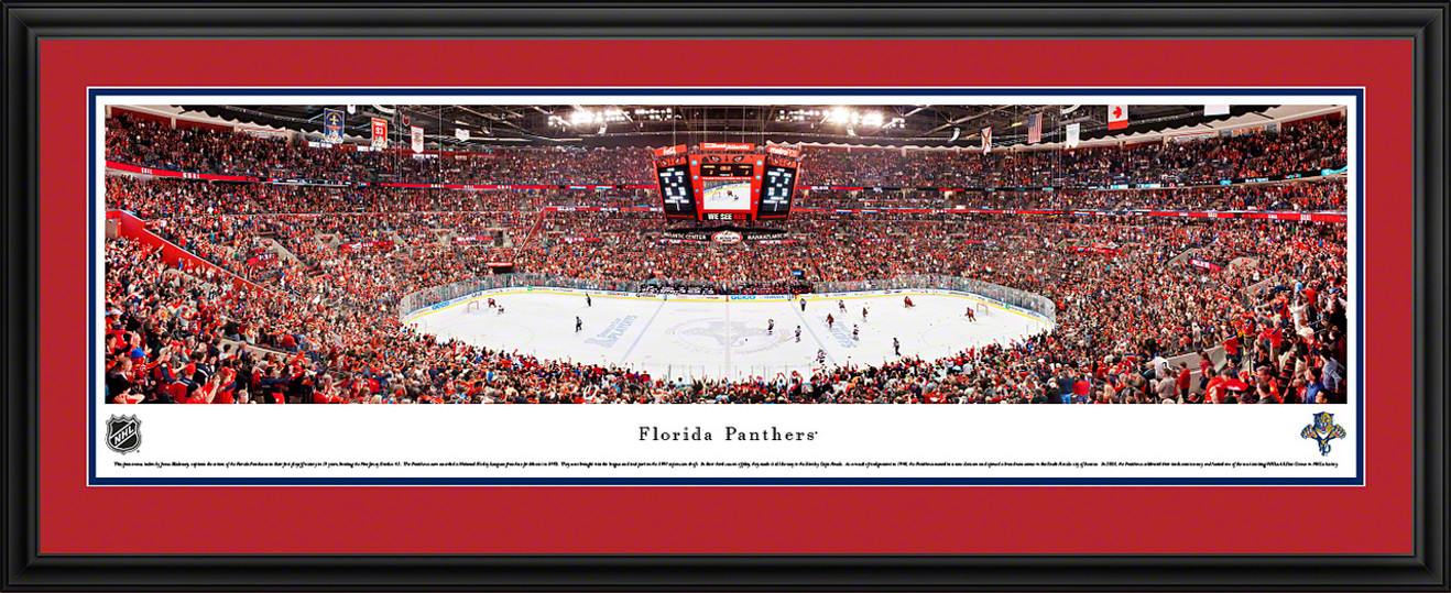 Florida Panthers Panoramic - Bank Atlantic Center Picture