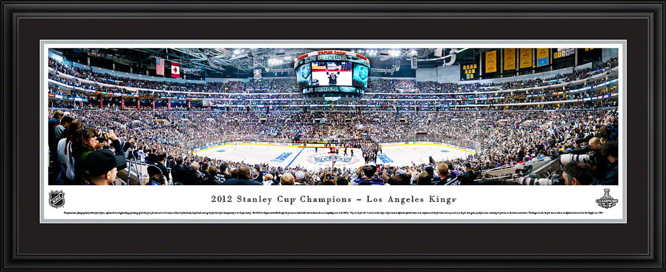 2012 Stanley Cup Championship Panoramic Picture - Los Angeles Kings