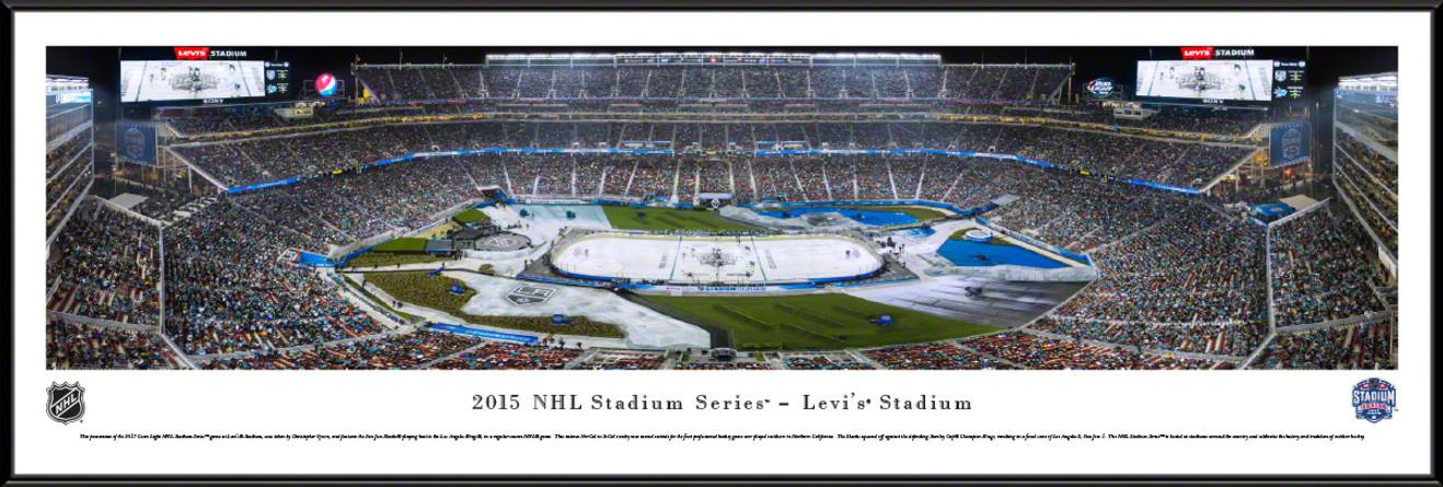 2015 Stadium Series Panoramic Picture - San Jose Sharks vs. Los Angeles Kings