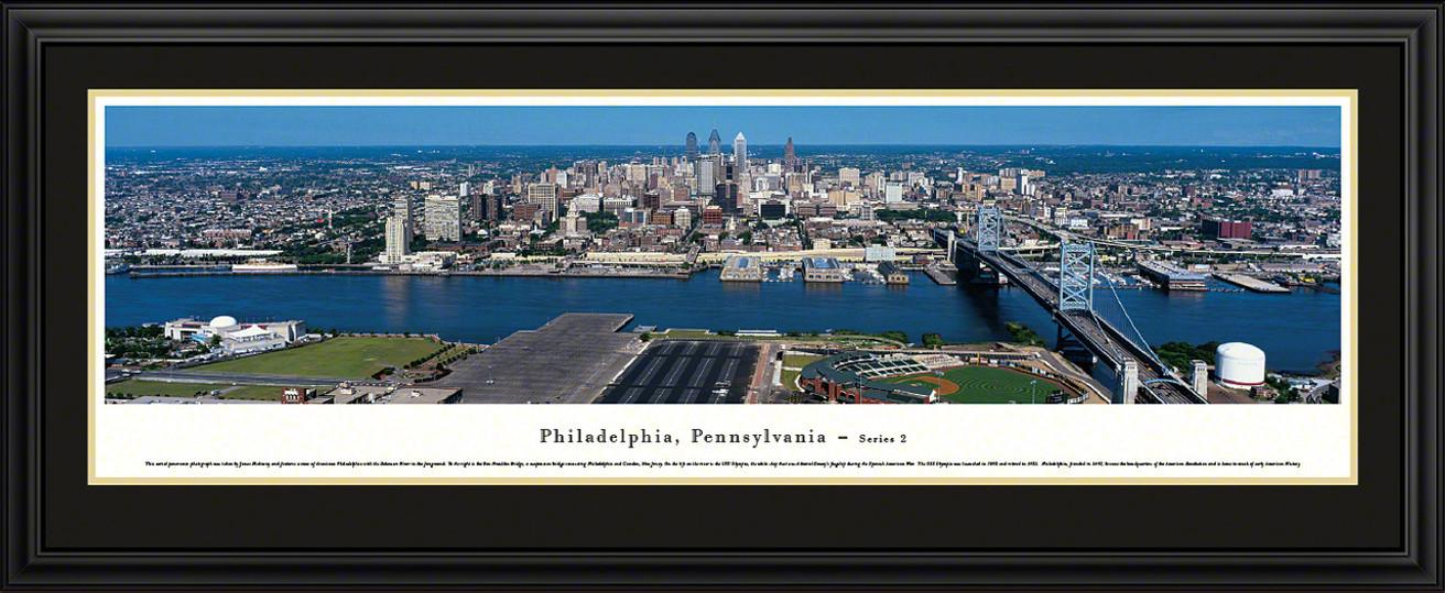 Philadelphia, Pennsylvania City Skyline Panorama