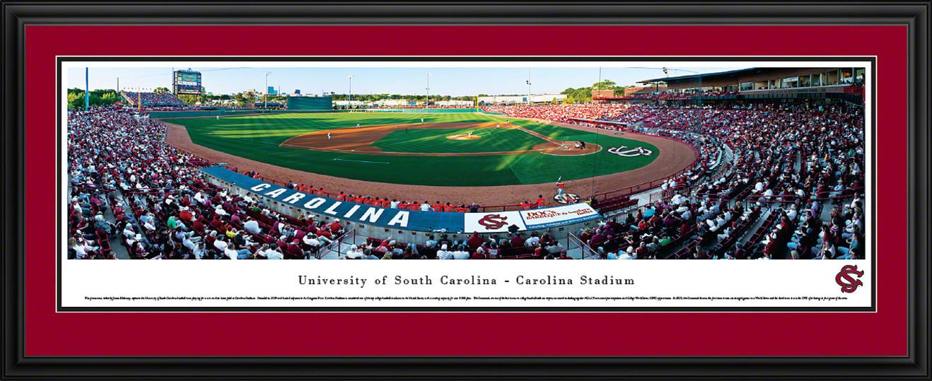 South Carolina Gamecocks Panoramic - Carolina Stadium Picture- Baseball