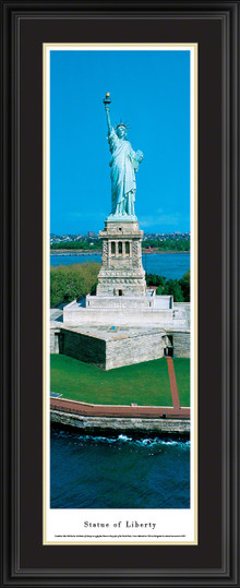 Statue Of Liberty Panoramic Picture - Vertical Panorama