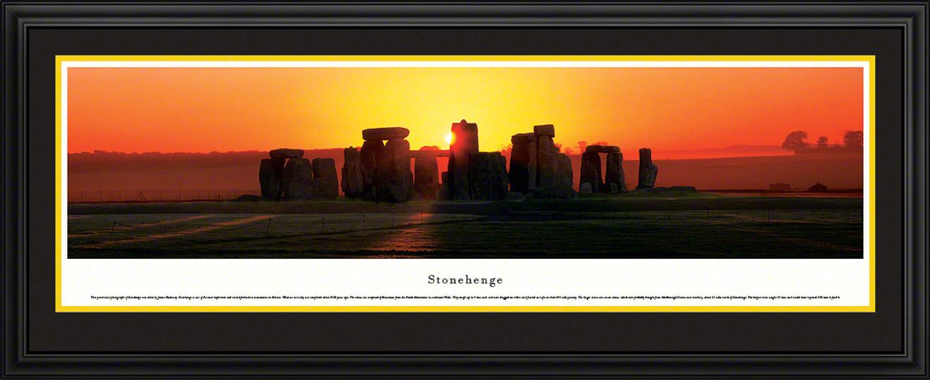 Stonehenge Panoramic Picture