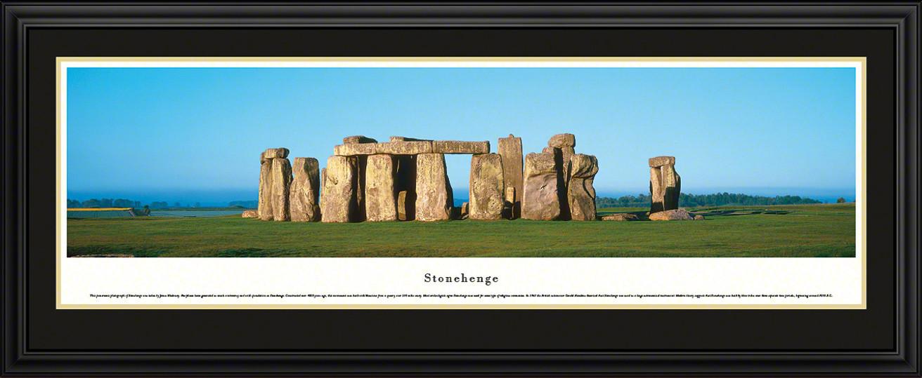 Stonehenge Poster - Panoramic Picture