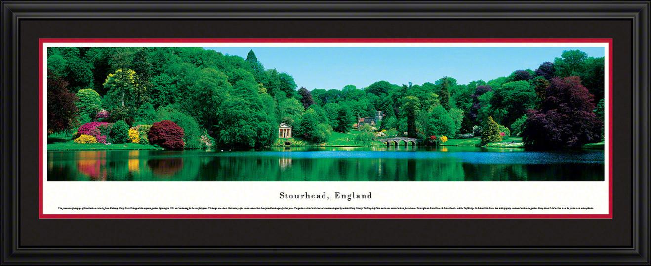 Stourhead Panoramic Picture, England