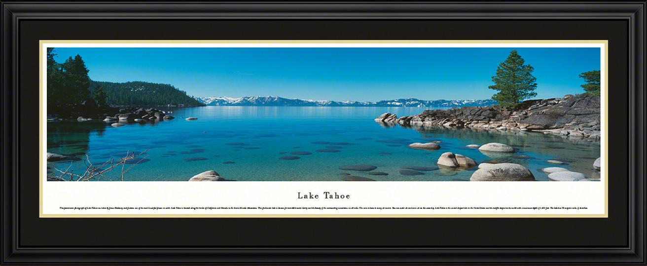 Lake Tahoe Panoramic Picture