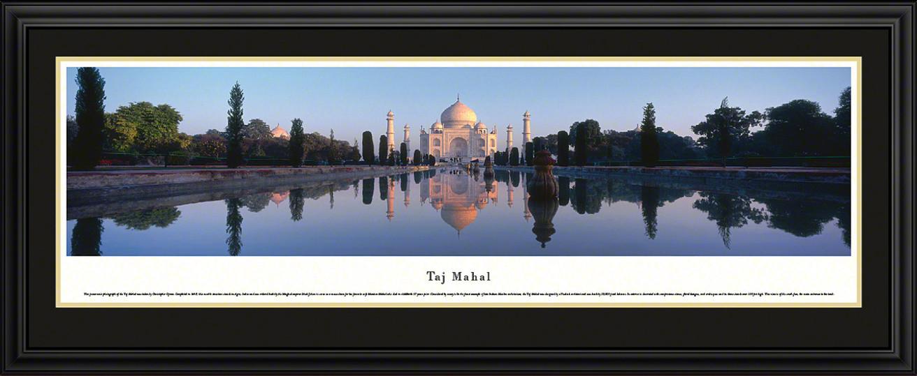 Taj Mahal, India Panoramic Picture