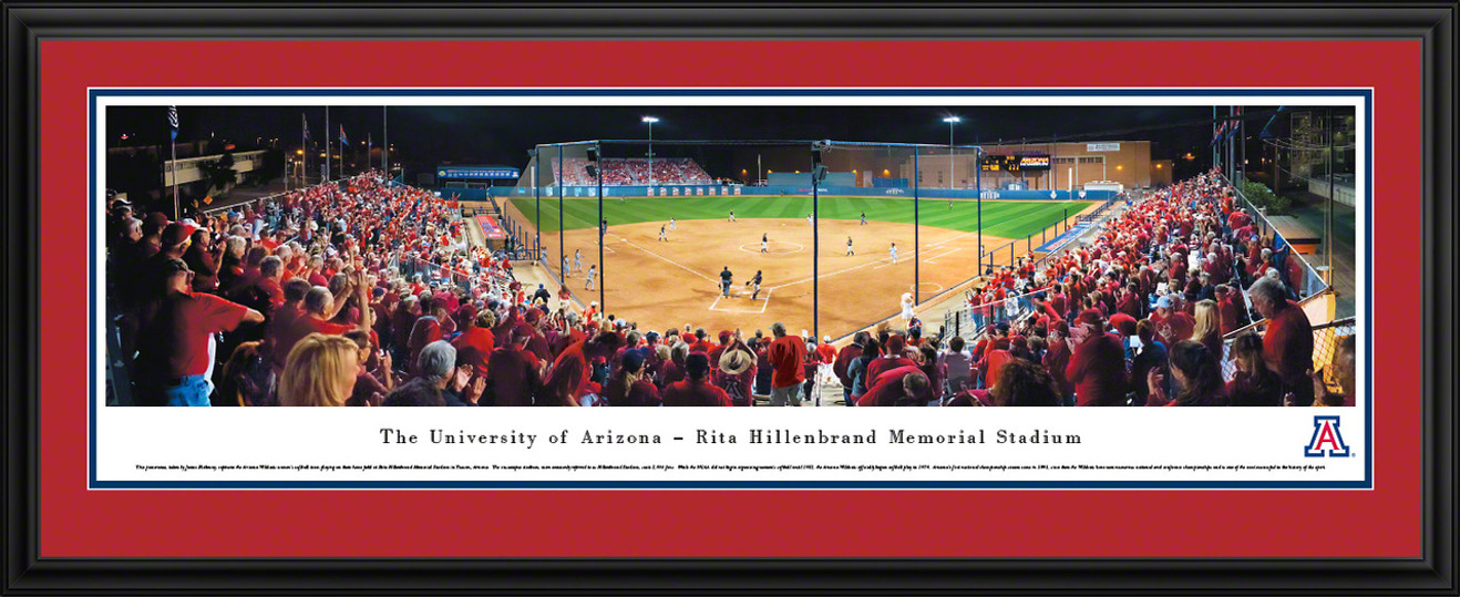 Arizona Wildcats Panoramic - Rita Hillenbrand Memorial Stadium