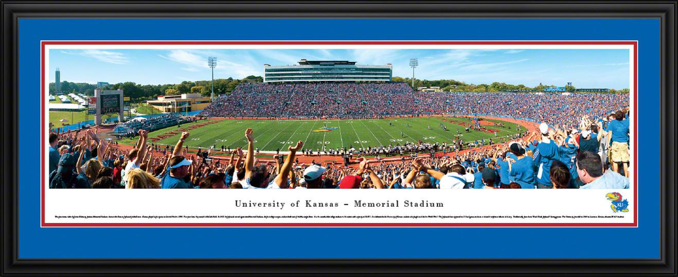 Kansas Jayhawks Football Panorama - Memorial Stadium Picture