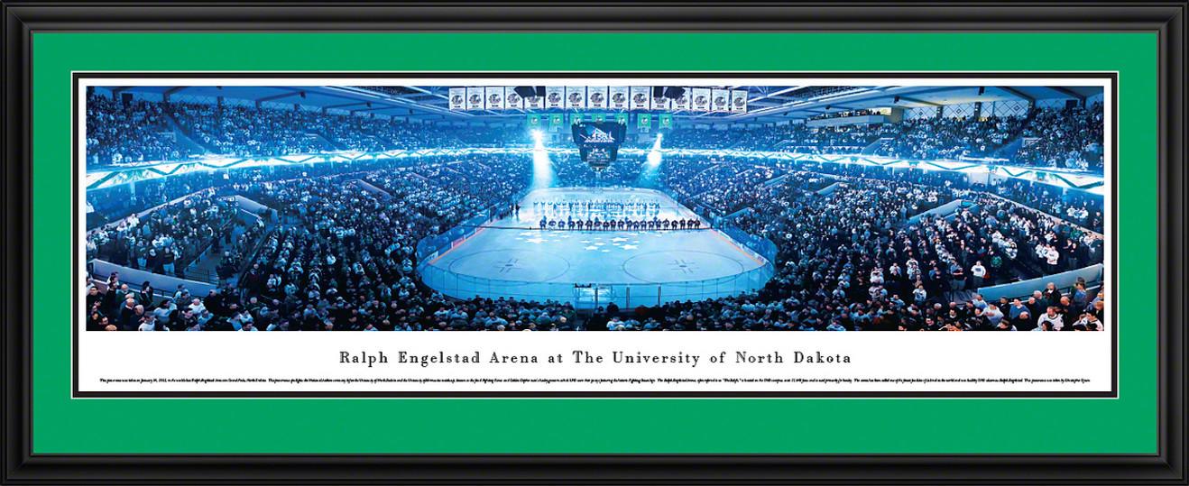 North Dakota Panoramic - Hockey Anthem