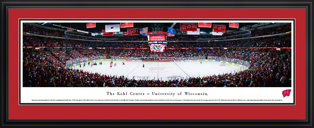 Wisconsin Badgers Panoramic - Kohl Center Picture