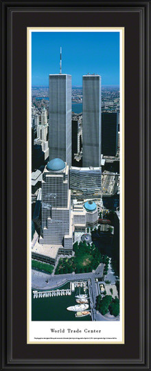 World Trade Center Panoramic Picture - Vertical Panorama