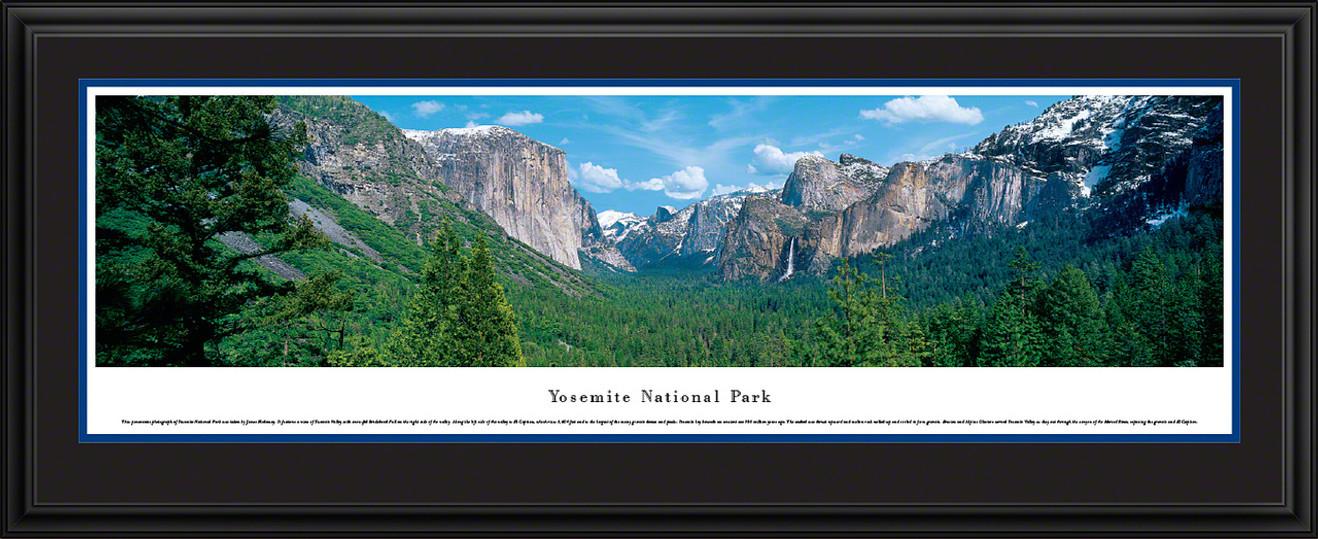 Yosemite National Park Panoramic Picture