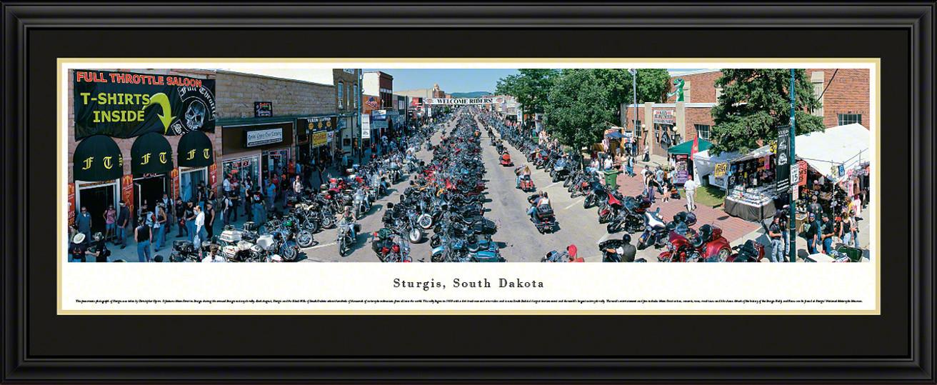 Sturgis, South Dakota Panoramic Picture - Sturgis Motorcycle Rally