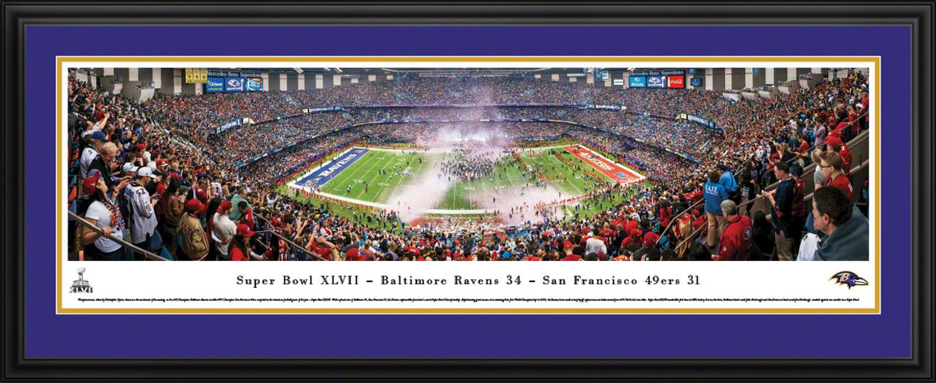 2013 Super Bowl Panoramic - Baltimore Ravens