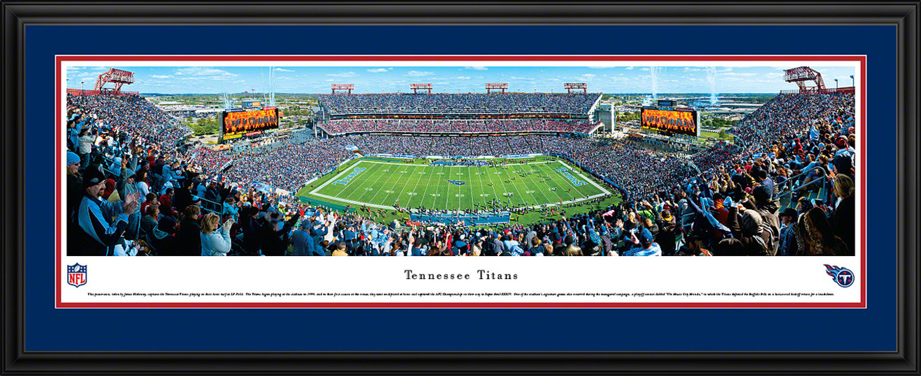 Tennessee Titans Panoramic - LP Field Picture