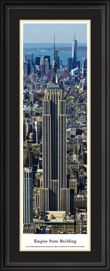 Empire State Building Panoramic Picture - Vertical Panorama
