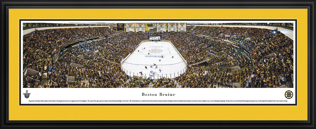 Boston Bruins Panoramic - TD Banknorth Garden Picture - Playoffs